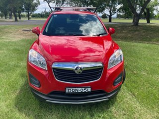 2016 Holden Trax TJ MY16 LS Red 6 Speed Automatic Wagon