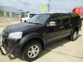 2012 Great Wall V200 K2 Black 6 Speed Manual Dual Cab.