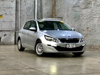 2016 Peugeot 308 T9 Access Silver 6 Speed Sports Automatic Hatchback.
