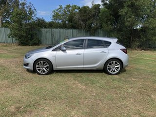 2013 Opel Astra AS Select Silver 6 Speed Sports Automatic Hatchback