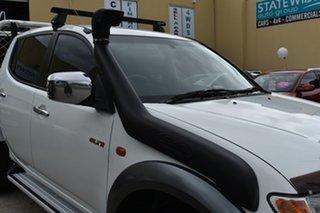 2007 Mitsubishi Triton ML MY08 GLX-R (4x4) White 5 Speed Manual 4x4 Double Cab Utility