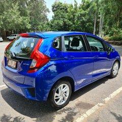 2017 Honda Jazz GF MY17 VTi Blue 5 Speed Manual Hatchback.
