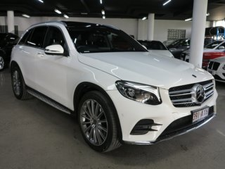 2017 Mercedes-Benz GLC-Class C253 808MY GLC250 d Coupe 9G-Tronic 4MATIC White 9 Speed.