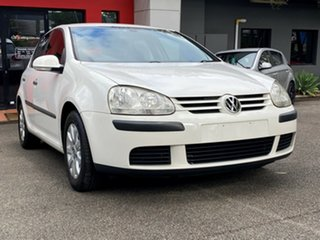 2006 Volkswagen Golf V MY07 Comfortline Tiptronic White 6 Speed Sports Automatic Hatchback.