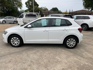 2019 Volkswagen Polo AW MY19 70TSI Trendline White 5 Speed Manual Hatchback
