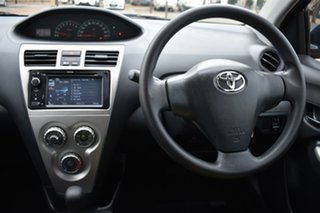 2014 Toyota Yaris NCP93R YRS Blue 4 Speed Automatic Sedan