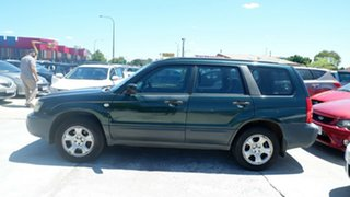 2004 Subaru Forester 79V MY04 X AWD Green 5 Speed Manual Wagon