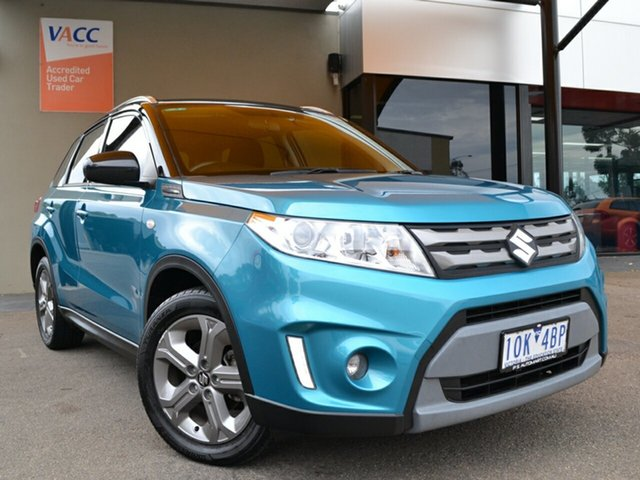 Used Suzuki Vitara LY RT-S 2WD Fawkner, 2018 Suzuki Vitara LY RT-S 2WD Turquoise 6 Speed Sports Automatic Wagon