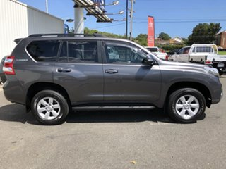 2017 Toyota Landcruiser Prado GDJ150R MY16 GXL (4x4) Graphite 6 Speed Automatic Wagon.