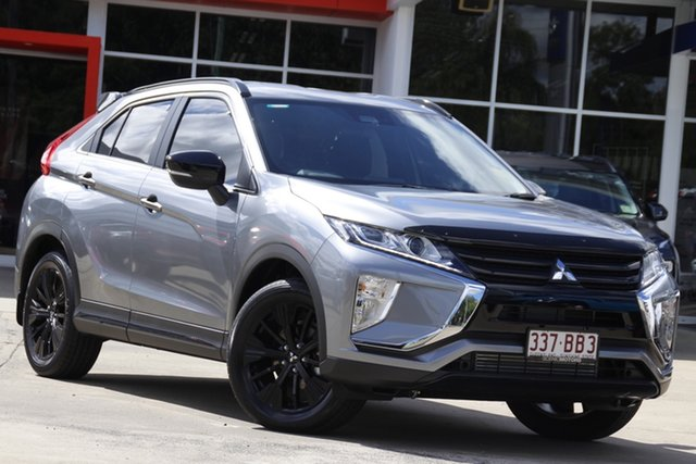 Demo Mitsubishi Eclipse Cross YA MY20 Black Edition 2WD Beaudesert, 2020 Mitsubishi Eclipse Cross YA MY20 Black Edition 2WD Titanium 8 Speed Constant Variable Wagon