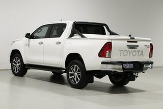 2019 Toyota Hilux GUN126R MY19 SR5 (4x4) White 6 Speed Automatic Double Cab Pick Up
