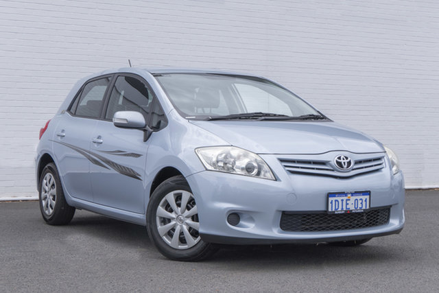 Used Toyota Corolla ZRE152R MY11 Ascent Bunbury, 2010 Toyota Corolla ZRE152R MY11 Ascent Blue 4 Speed Automatic Hatchback