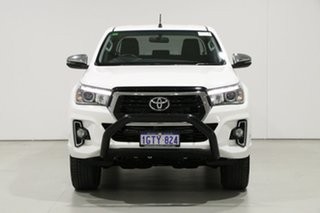 2019 Toyota Hilux GUN126R MY19 SR5 (4x4) White 6 Speed Automatic Double Cab Pick Up.