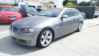2007 BMW 3 Series E92 335i Steptronic Grey 6 Speed Sports Automatic Coupe.