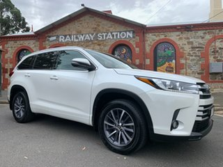 2017 Toyota Kluger GSU55R GXL AWD White 8 Speed Sports Automatic Wagon
