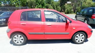 2011 Hyundai Getz TB MY09 S Red 4 Speed Automatic Hatchback