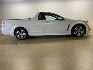 2013 Holden Ute VF SV6 White 6 Speed Automatic Utility.