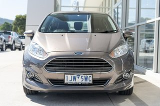2017 Ford Fiesta WZ Sport PwrShift Brown 6 Speed Sports Automatic Dual Clutch Hatchback.