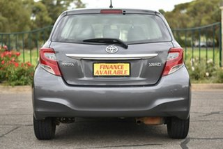 2015 Toyota Yaris NCP130R Ascent Grey 5 Speed Manual Hatchback