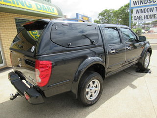 2012 Great Wall V200 K2 Black 6 Speed Manual Dual Cab