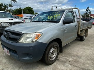 2005 Toyota Hilux GGN15R MY05 SR 4x2 Silver 5 Speed Manual Cab Chassis.