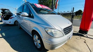 2008 Mercedes-Benz Viano 639 MY07 Ambiente Silver 5 Speed Automatic Wagon.