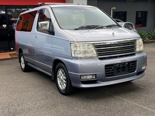 2000 Nissan Elgrand ALWE50 Highway Star Metallic Silver 4 Speed Automatic Wagon.