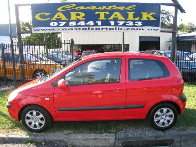 Used Hyundai Getz TB Upgrade 1.6 Nambour, 2006 Hyundai Getz TB Upgrade 1.6 Red 4 Speed Automatic Hatchback