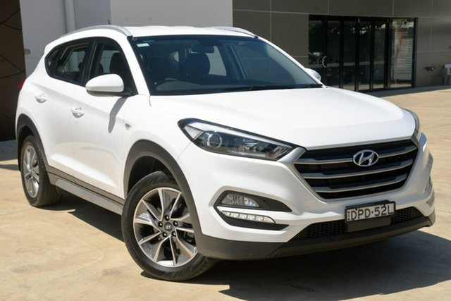 Used Hyundai Tucson TL MY18 Active X 2WD Tuggerah, 2017 Hyundai Tucson TL MY18 Active X 2WD White 6 Speed Sports Automatic Wagon