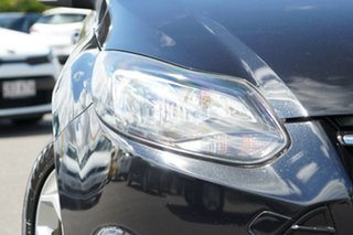 2013 Ford Focus LW MkII Sport Black/Grey 5 Speed Manual Hatchback.
