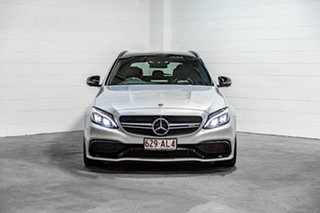 2017 Mercedes-Benz C-Class S205 807+057MY C63 AMG Estate SPEEDSHIFT MCT S Silver 7 Speed