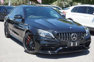 2020 Mercedes-Benz C-Class W205 800+050MY C63 AMG SPEEDSHIFT MCT S Black 9 Speed Sports Automatic.