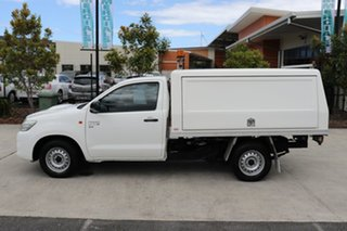 2013 Toyota Hilux KUN16R MY12 SR 4x2 Glacier 5 speed Manual Cab Chassis