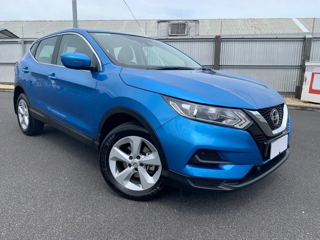 Used Nissan Qashqai J11 Series 2 ST X-tronic Moonah, 2019 Nissan Qashqai J11 Series 2 ST X-tronic Blue 1 Speed Constant Variable Wagon