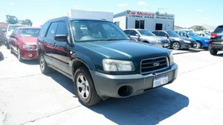 2004 Subaru Forester 79V MY04 X AWD Green 5 Speed Manual Wagon.