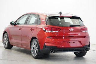 2019 Hyundai i30 PD.3 MY20 N Line D-CT Premium Lava Orange 7 Speed Sports Automatic Dual Clutch