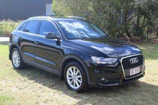 2015 Audi Q3 8U MY14 TFSI S Tronic Black 6 Speed Sports Automatic Dual Clutch Wagon.