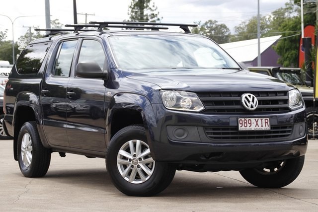 Used Volkswagen Amarok 2H MY17 TDI400 4MOT Core Bundamba, 2017 Volkswagen Amarok 2H MY17 TDI400 4MOT Core Blue 6 Speed Manual Utility