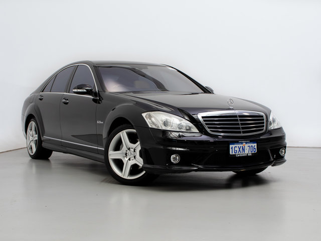 Used Mercedes-Benz S500 221 07 Upgrade , 2007 Mercedes-Benz S500 221 07 Upgrade Black 7 Speed Automatic G-Tronic Sedan