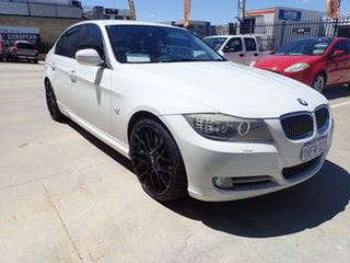 2011 BMW 3 Series E90 MY11 323i Steptronic Lifestyle White Crystal 6 Speed Sports Automatic Sedan.