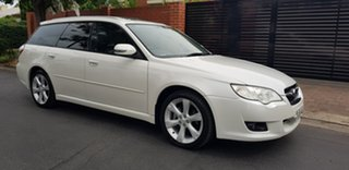 2008 Subaru Liberty MY08 2.5I Heritage Pearl White 4 Speed Auto Elec Sportshift Wagon