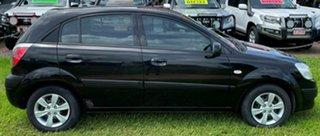 2009 Kia Rio JB MY09 LX Black 4 Speed Automatic Hatchback.