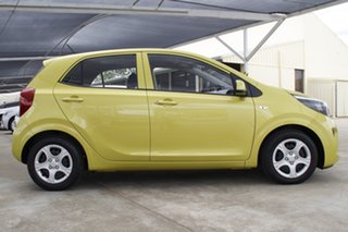 2019 Kia Picanto JA MY19 S Lime Green 4 Speed Automatic Hatchback.