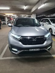 2020 Honda CR-V RW MY21 VTi FWD L7 Lunar Silver 1 Speed Constant Variable Wagon.