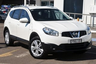 2013 Nissan Dualis J107 Series 3 MY12 +2 Hatch X-tronic 2WD ST White 6 Speed Constant Variable.