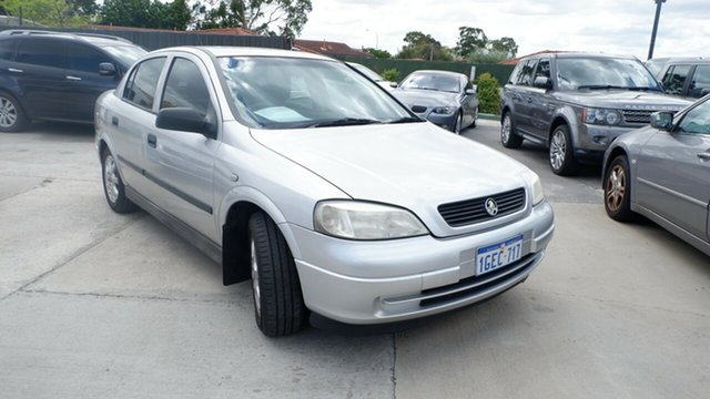 Used Holden Astra TS MY05 Classic St James, 2005 Holden Astra TS MY05 Classic Silver 4 Speed Automatic Sedan