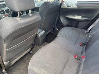 2009 Subaru Impreza G3 MY09 RX AWD Red 5 Speed Manual Sedan