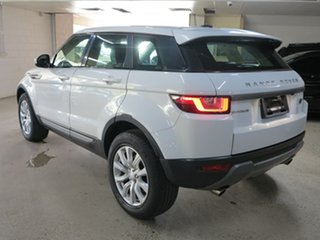 2016 Land Rover Range Rover Evoque L538 MY16.5 TD4 150 SE White 9 Speed Sports Automatic Wagon