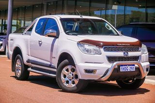 2014 Holden Colorado RG MY14 LTZ Space Cab White 6 Speed Manual Utility.