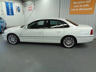 2004 Holden Caprice WK White 4 Speed Automatic Sedan